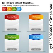Cable Tv Clip Art - Royalty Free - GoGraph