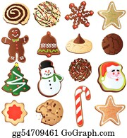 Christmas Cookies Clip Art Royalty Free Gograph