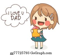 I Love You Dad Clip Art Royalty Free Gograph