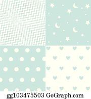 f2403dfd59d1 Clip Art Baby Boy Blue Seamless Pattern Background - Royalty Free ...
