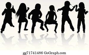 Children Dancing Clip Art Royalty Free Gograph
