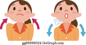 Breathing Exercise Clip Art - Royalty Free - GoGraph