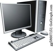 43093acbde6 Computer Clip Art - Royalty Free - GoGraph
