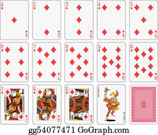 Playing Card Clip Art Royalty Free Gograph