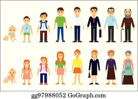 Age Clip Art - Royalty Free - GoGraph
