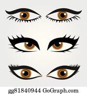 Eyebrow Shaping Clip Art - Royalty Free - GoGraph