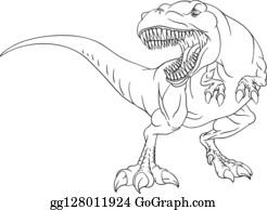 Ausmalbilder Dinosaurier Rex