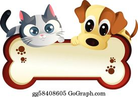 Cat Dog Clip Art Royalty Free Gograph