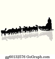 Dog Sled And Team Clip Art at Clker.com - vector clip art online, royalty  free & public domain