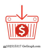 Dollar Sign Cartoon - Royalty Free - GoGraph