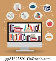 E Learning Clip Art Royalty Free Gograph