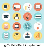Royalty Free E Learning Vectors Gograph