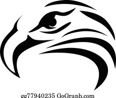 3811f8b95 Eagle Head Tattoo Clip Art - Royalty Free - GoGraph