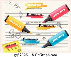 Highlighters Clip Art Royalty Free Gograph