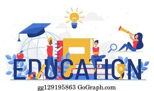 University Scholarship Cartoon Royalty Free Gograph