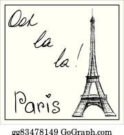 La Tour Eiffel Clip Art Royalty Free Gograph