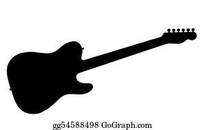 Guitar Clipart, Guitar, Vector (Grafik) von SVG DEN · Creative Fabrica