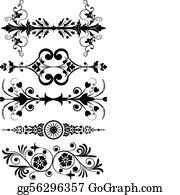 Corner Design Clip Art - Royalty Free - GoGraph