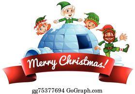Igloo Clip Art - Royalty Free - GoGraph