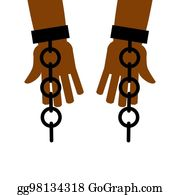 Royalty Free Breaking Chains Clip Art - GoGraph