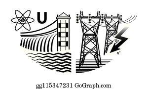 Hydro Power Clip Art Royalty Free Gograph