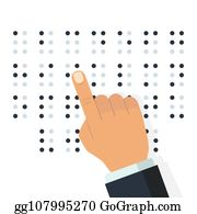 Braille Clip Art - Royalty Free - GoGraph