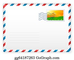 Envelope And Postage Stamp 2