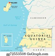 Vector Art Papua new guinea political map EPS clipart gg71751644