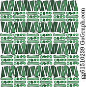 African Pattern Clip Art - Royalty Free - GoGraph