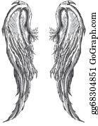 Angel wings clip art royalty free gograph - Free evil angel pictures ...