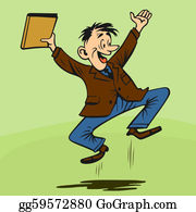 Excited Clip Art - Royalty Free - GoGraph