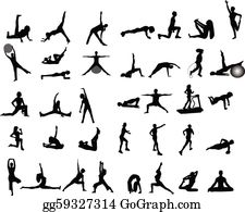 Exercise Clip Art Royalty Free Gograph