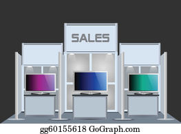 Exhibition Stand Free Vector : Exhibition stand clip art royalty free gograph