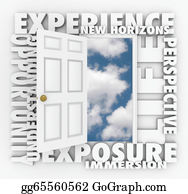 Open Door To New Opportunities Stock Illustrations - Royalty Free - GoGraph