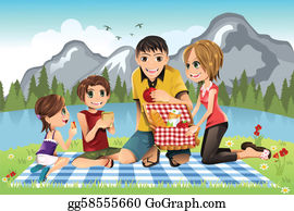 2,737 Family Picnic Illustrations, Royalty-Free Vector Graphics & Clip Art  - iStock