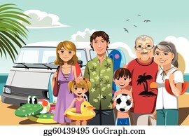 Beach Vacation Clip Art Royalty Free Gograph