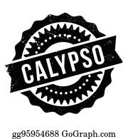 Calypso Clip Art - Royalty Free - GoGraph
