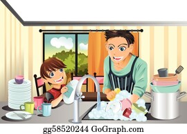 Free Clean Dishes Cliparts, Download Free Clip Art, Free Clip Art on Clipart  Library