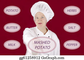 Mashed Potatoes Stock Illustrations Royalty Free Gograph