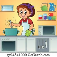 Cooking Girls Png & Free Cooking Girls.png Transparent Images #86312 - PNGio