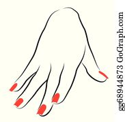 finger nails clip art royalty free gograph finger nails clip art royalty free