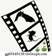 Adorable Movie Clip Art - Royalty Free - GoGraph