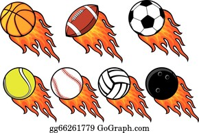Clipart Fire Basketball - Basketball On Fire Clipart, HD Png Download ,  Transparent Png Image - PNGitem