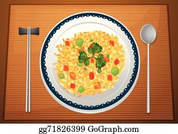 Fried Rice Clip Art Royalty Free Gograph
