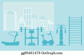 eps illustration elliptical bike vector clipart gg87432521 gograph
