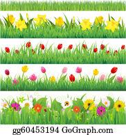 Garden Border Clip Art Royalty Free Gograph