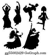 India Clipart Dancer - Folk Art Of India Drawing , Transparent Cartoon -  Jing.fm