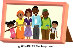 Best HD Families Clipart Collection Clip Art Of Happy African Family Design