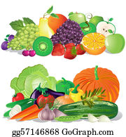 Fruit And Vegetables Clip Art Royalty Free Gograph