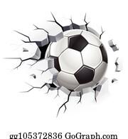Old Soccer Ball Clipart Lizenzfrei Gograph